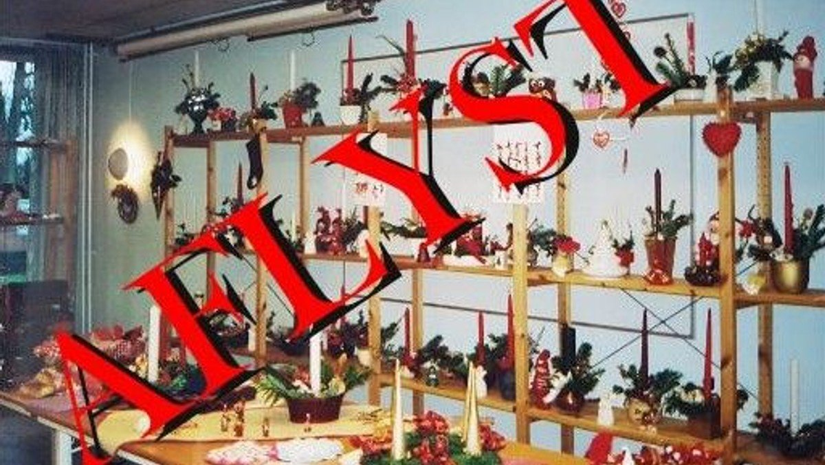 AFLYST Adventsmarked