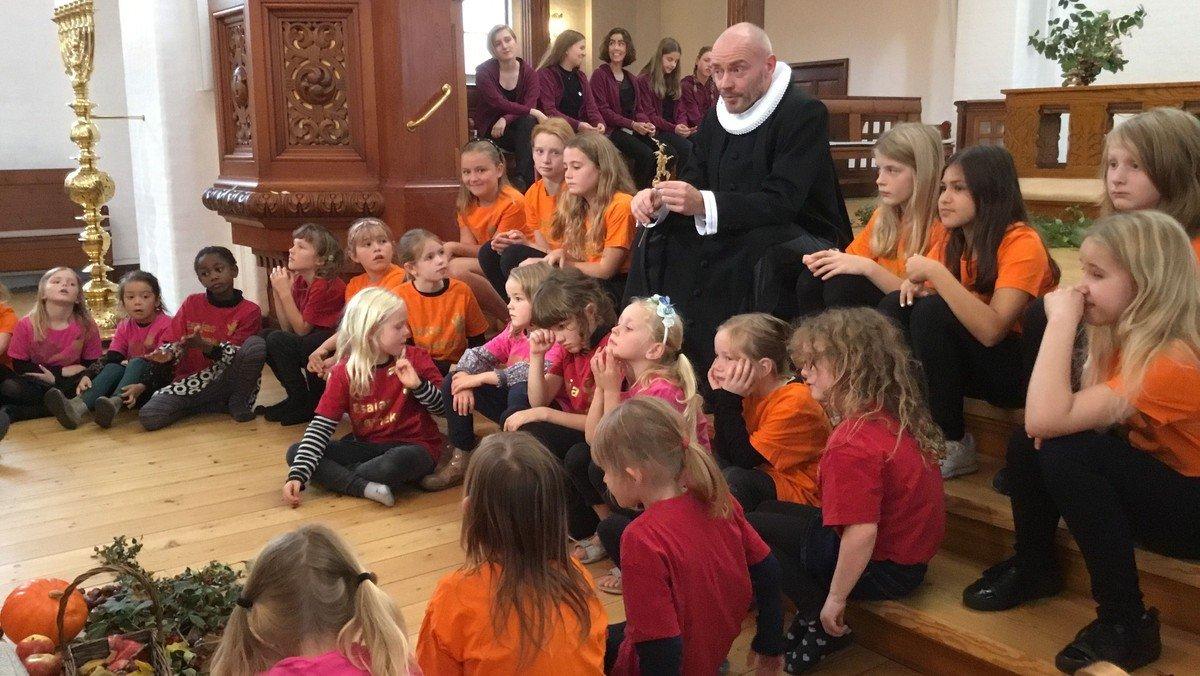 Korskolens høstgudstjeneste