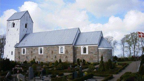 Høstgudstjeneste i Haverslev Kirke - sammen med spejderne
