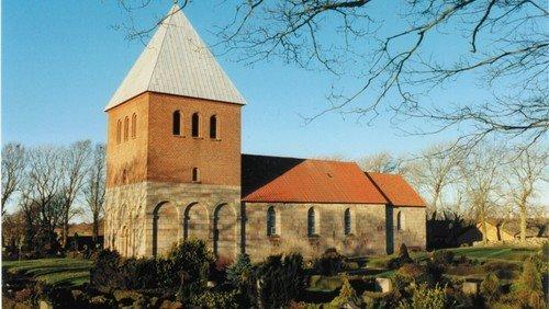 Gudstjeneste i Bejstrup Kirke - 3-års bibeludlevering