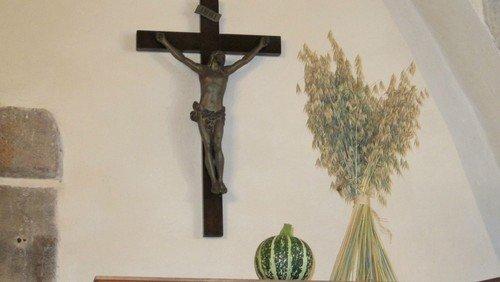 Høstgudstjeneste Alslev med dåb uden nadver