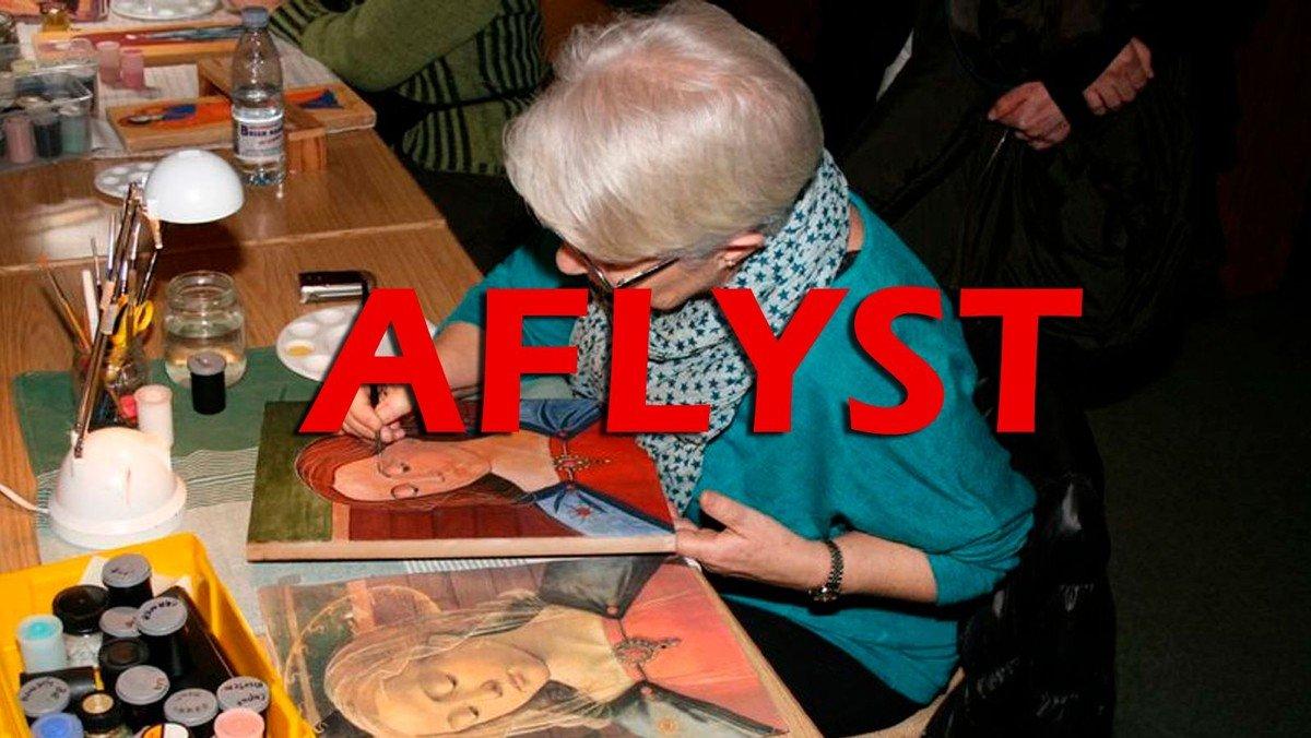 Ikonmalere - AFLYST
