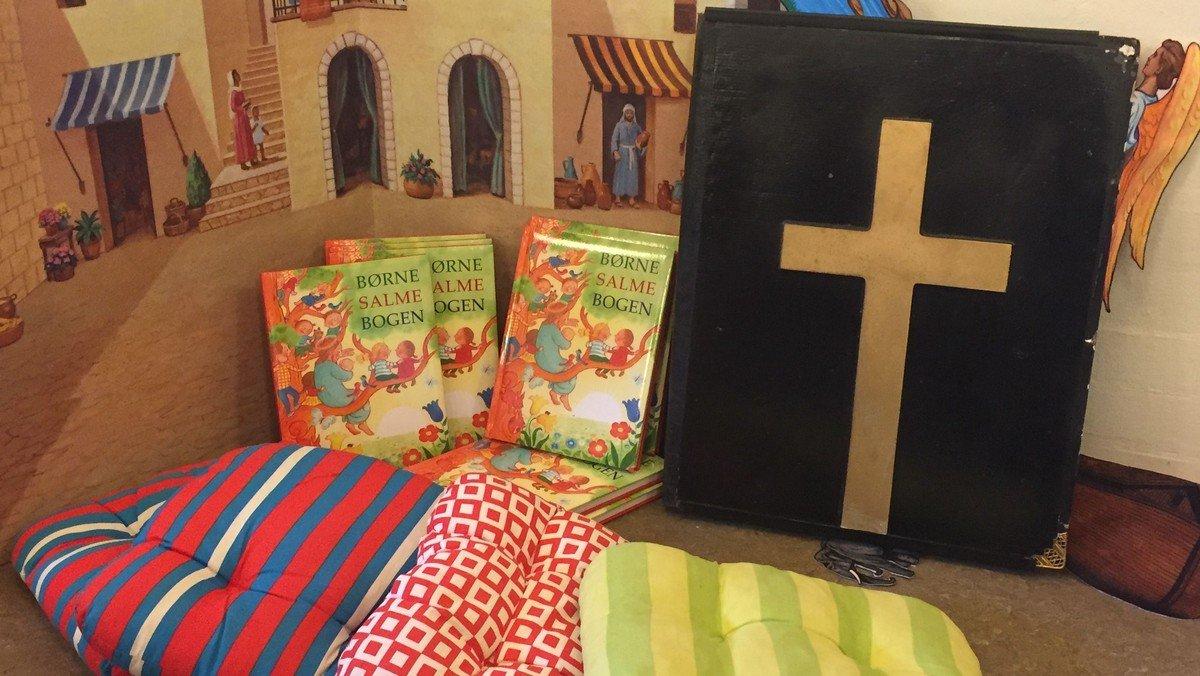 Med Jesus til bords -  en børnevenlig gudstjeneste