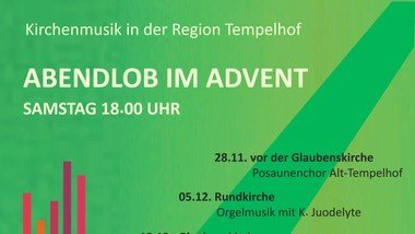 Abendlob im Advent