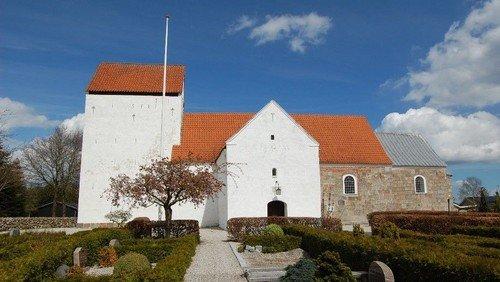 Gudstjeneste Nørager Kirke - 20. s.e. trinitatis