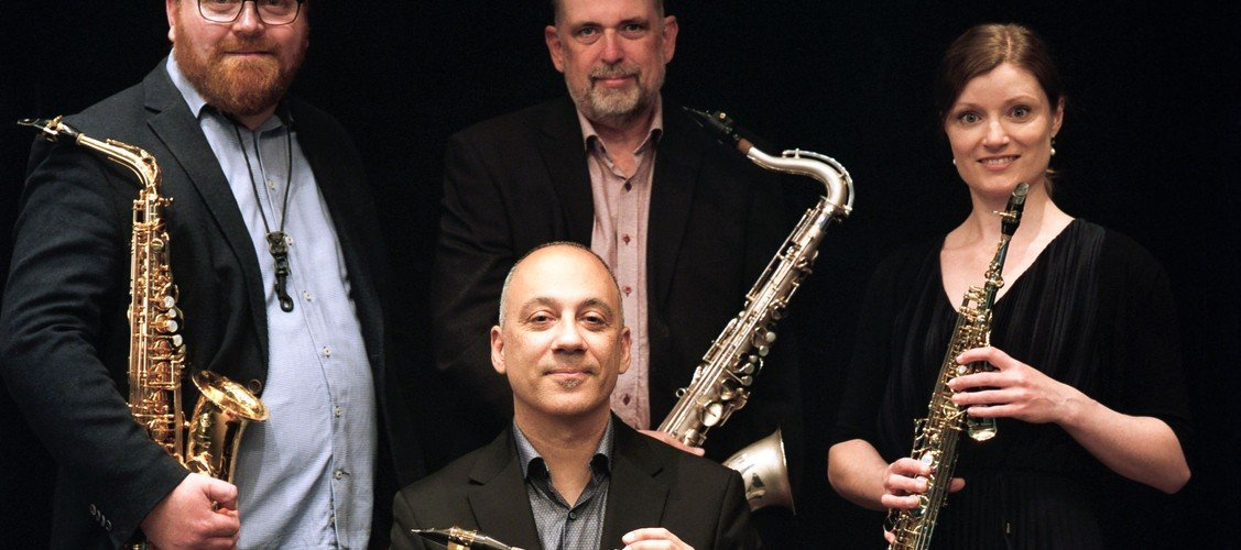 Tangokoncert med Jutlandia Saxophone Quartet