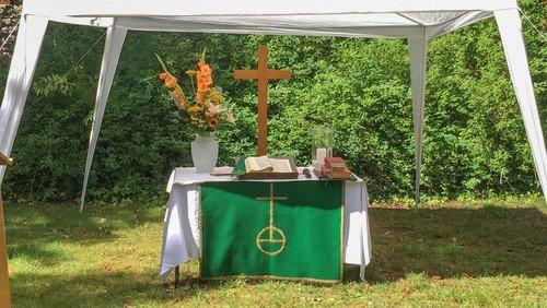 Musikalischer Open-Air-Gottesdienst mit Abendmahl in Waidmannslust
