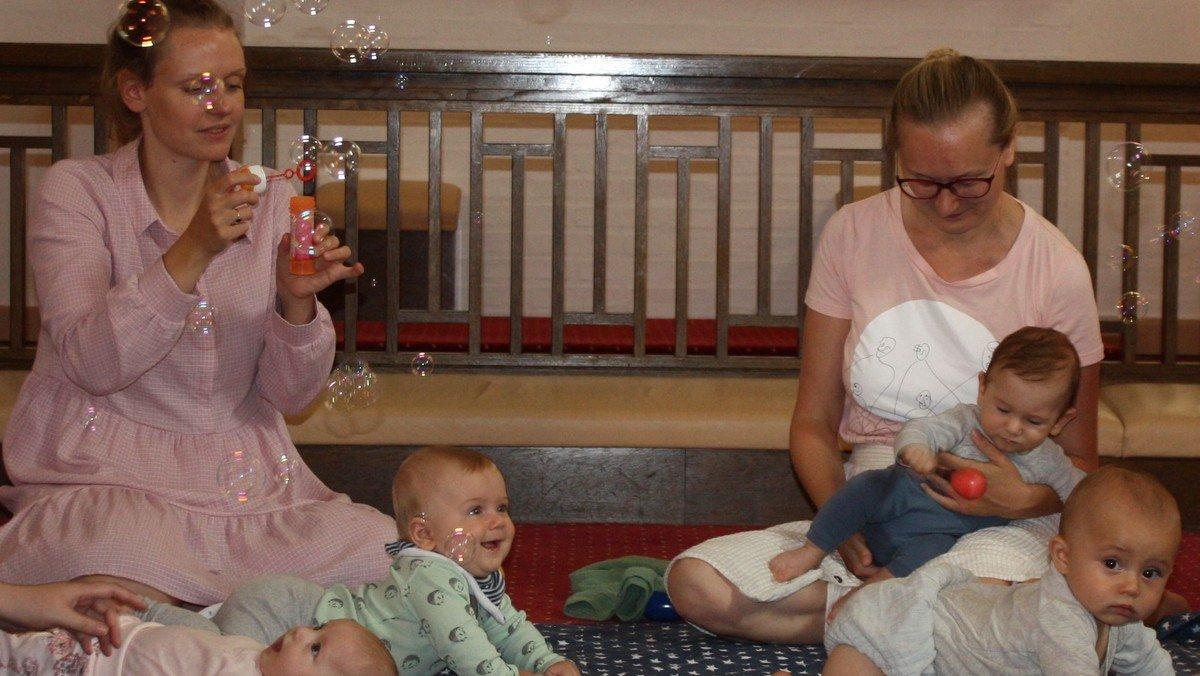 Babysalmesang - AFLYST indtil videre