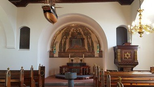 Aftengudstjeneste i Svingelbjerg Kirke