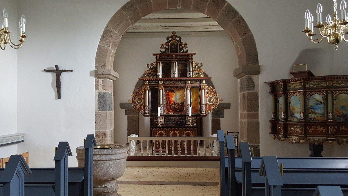 Gudstjeneste i Fovlum Kirke