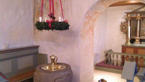 Juleafslutning med skolen i Fovlum Kirke