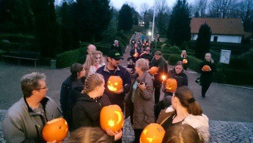 AFLYST - Halloween i kirke og sognehus - i stedet holdes der Halloween i FDF, hos Minikonfirmander og i Spiren ved de normale mødetider.