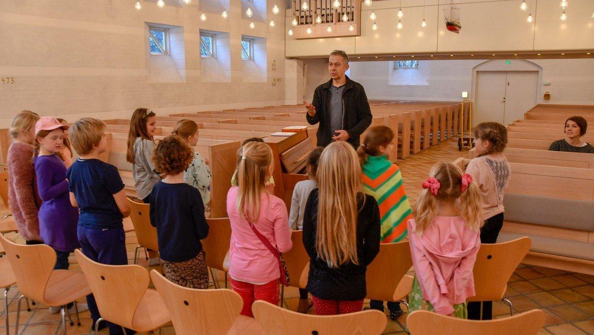 Aflyst Børnekor Egedal Kirke