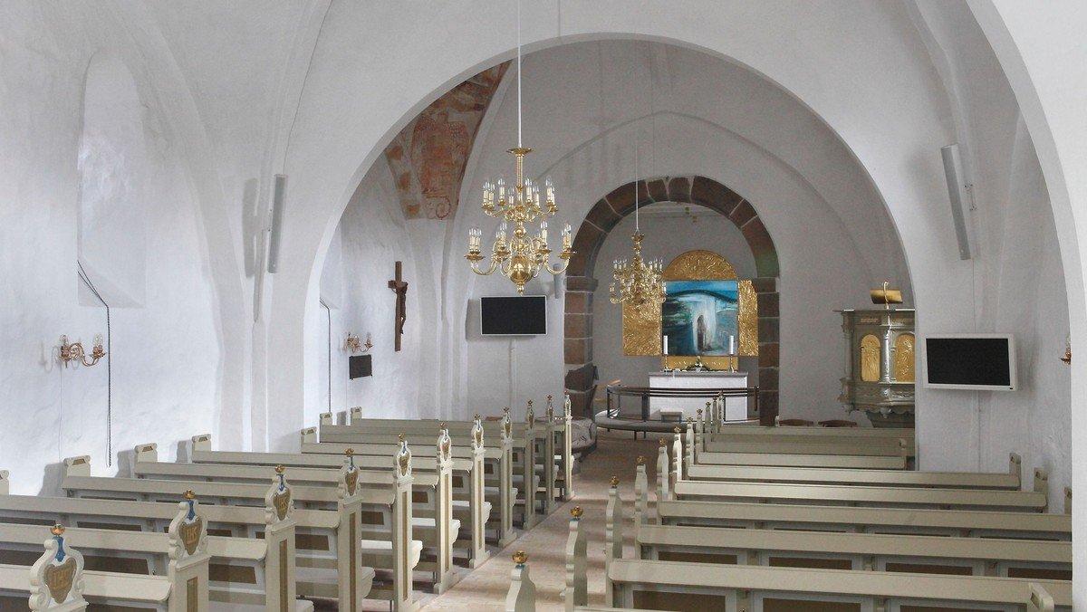 Farsø Kirke. Allehelgens andagt for indbudte