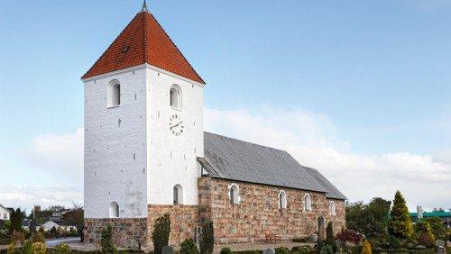 Farsø kirke. Højmesse