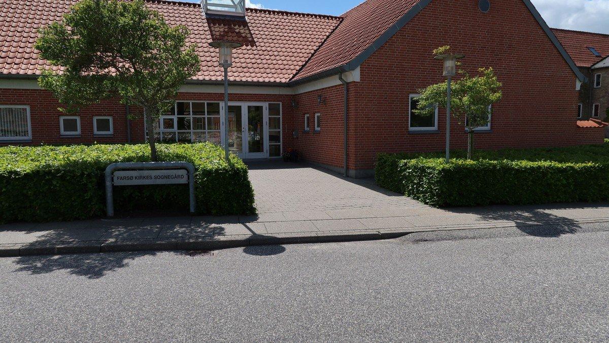 Farsø sognegård. Kirkecafe