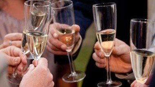 Nytårsdag - med kransekage og champagne efter gudstjenesten