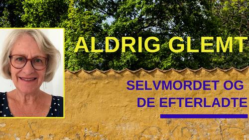 Aldrig Glemt - foredrag med pastor Gunvor Blichfeldt