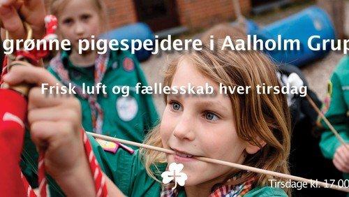 Pigespejdere i Aalholm - AFLYST indtil videre