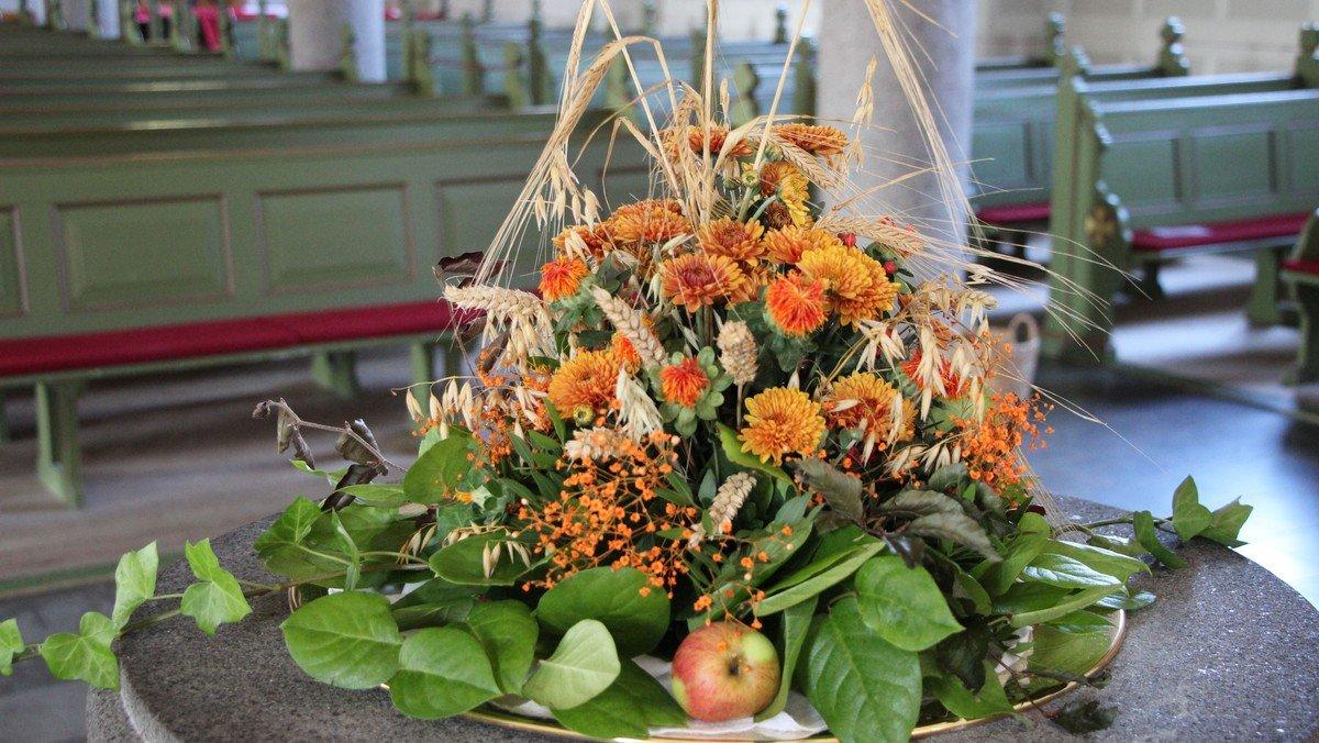 Høstgudstjeneste ved Peter Krabbe-Larsen