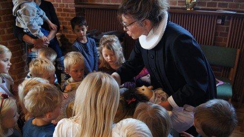 Dåbsgudstjeneste for de 4-årige