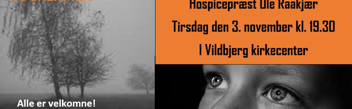 Sogneaften ER FLYTTET TIL VILDBJERG KIRKECENTER