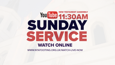 Sunday Service @ 11:30AM (Live & Pre-Recorded)