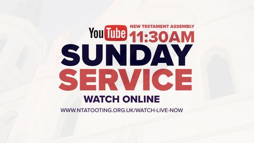 Sunday Service @ 11:30AM (Live & Pre-Recorded)
