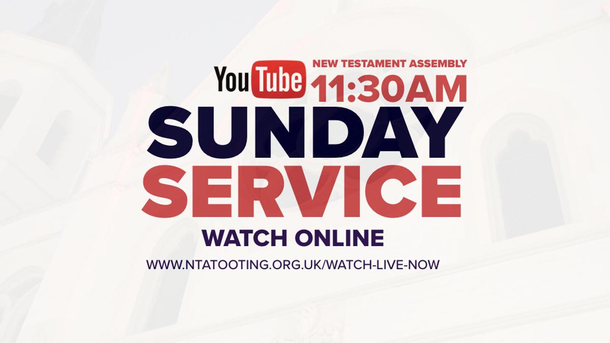 Sunday Service @ 11:30AM (Live)