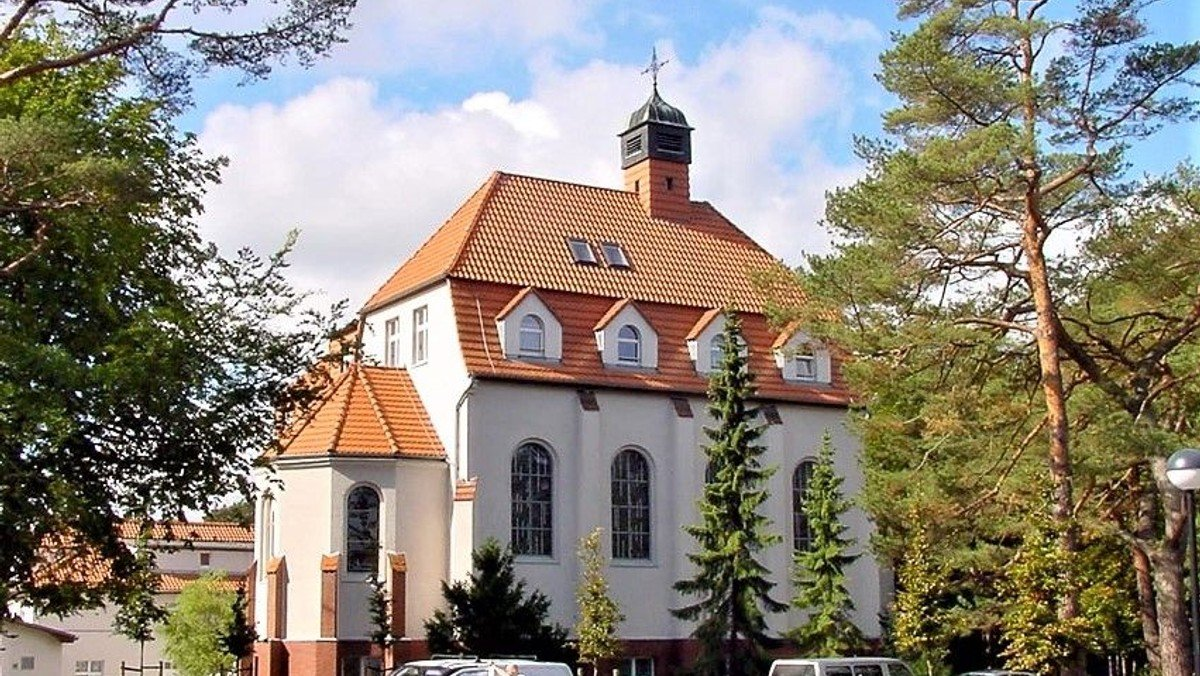 Andacht in St. Otto, Zinnowitz