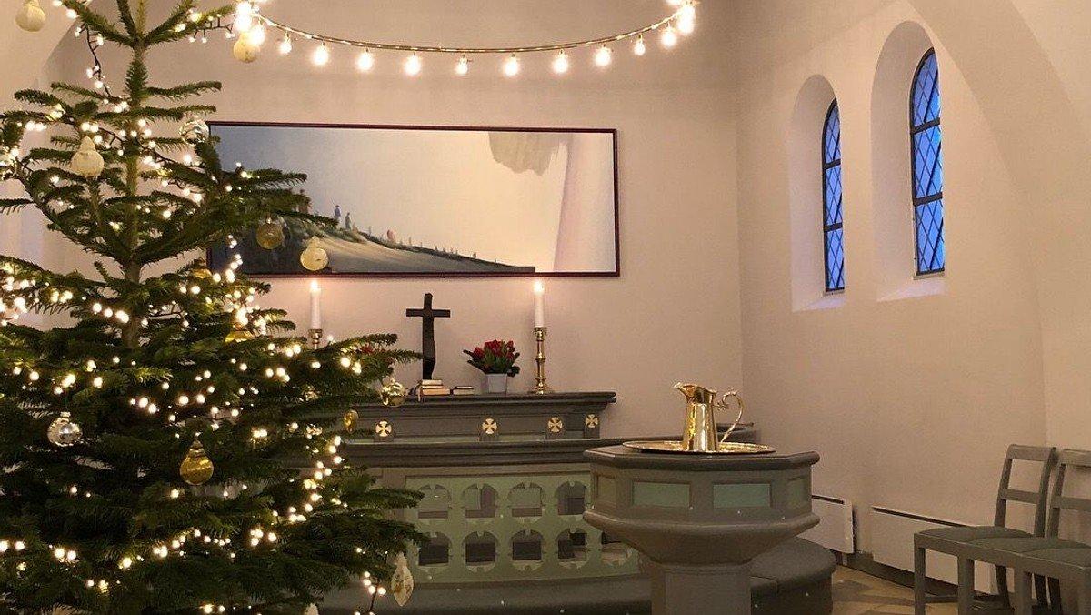 (1. søndag i advent) Gudstjeneste kl. 15:00 i Gudumholm Kirke