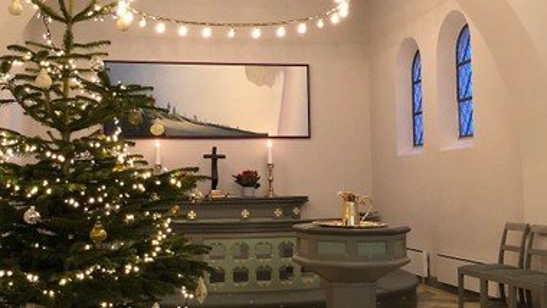 Gudstjeneste kl. 16.00 i Gudumholm Kirke