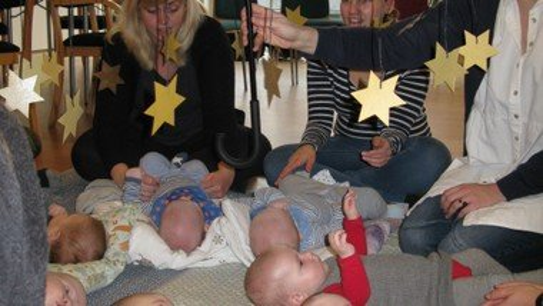 Babysalmesang - NB: husk tilmelding