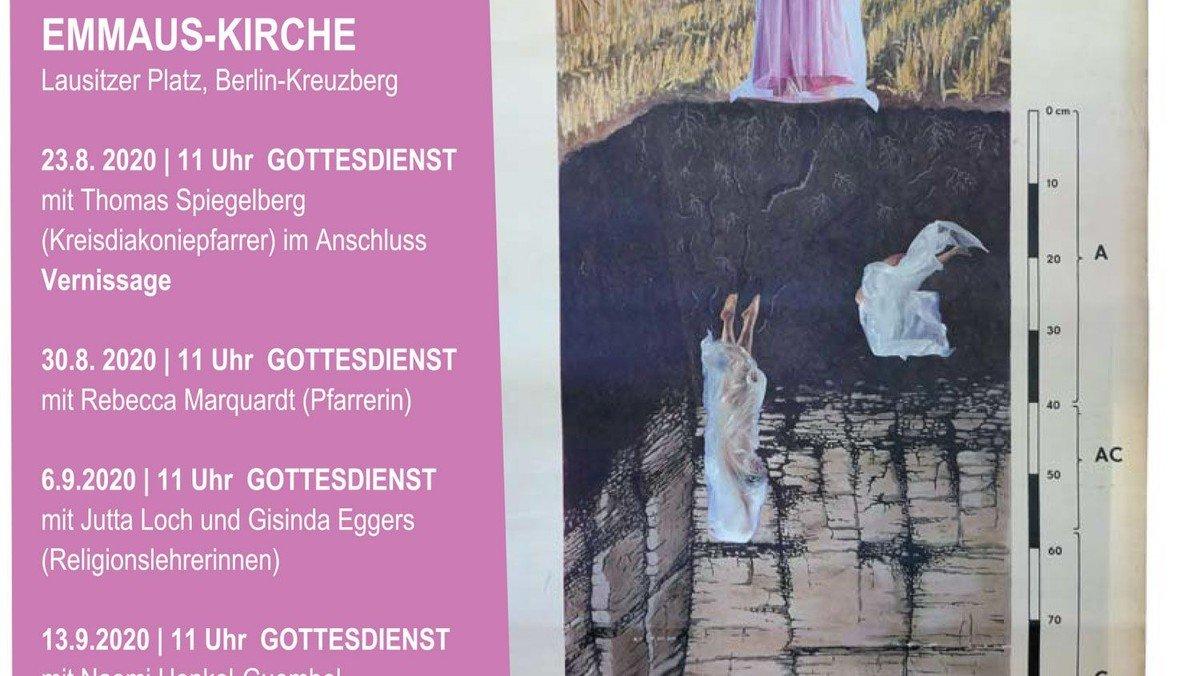 abgrundtief, himmelhoch – Ausstellung und Predigtreihe zu den Werken von Jutta Loch, Finissage