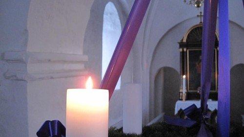 Første søndag i advent i Nørre Snede kirke