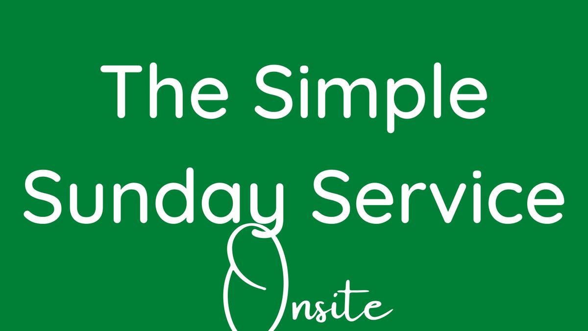 Simple Service-Communion
