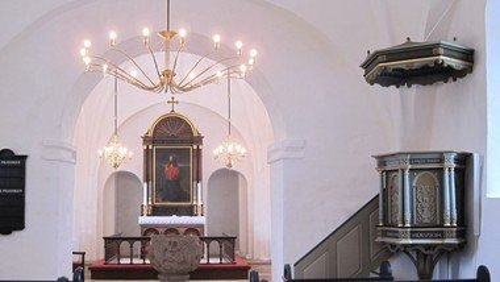 A F L Y S T  -   Nytårsgudstjeneste i Nørre Snede Kirke