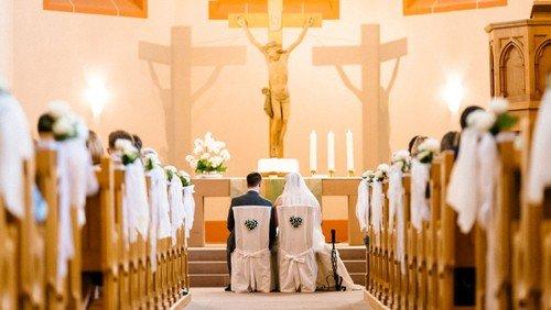 Kirchliche Trauung Tscheulin