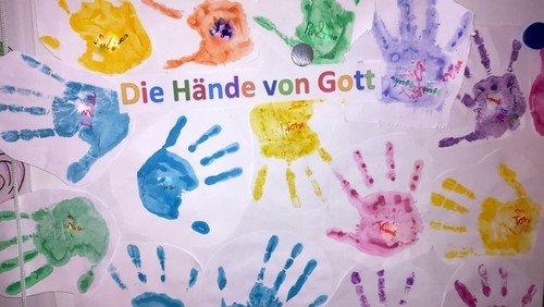 """Christenlehre """"Die Hände von Gott"""""""