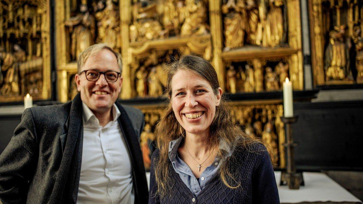 Gottesdienst von St. Jakobi und St. Marien mit Marienpastores Inga Meißner und Robert Pfeifer