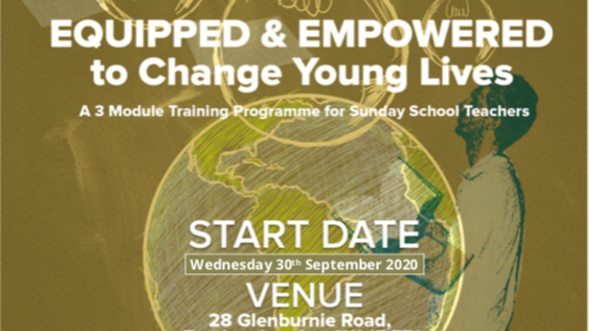 ITCC Training Programme: Equipped & Empowered to Change Young Lives (for Sunday School Teachers)