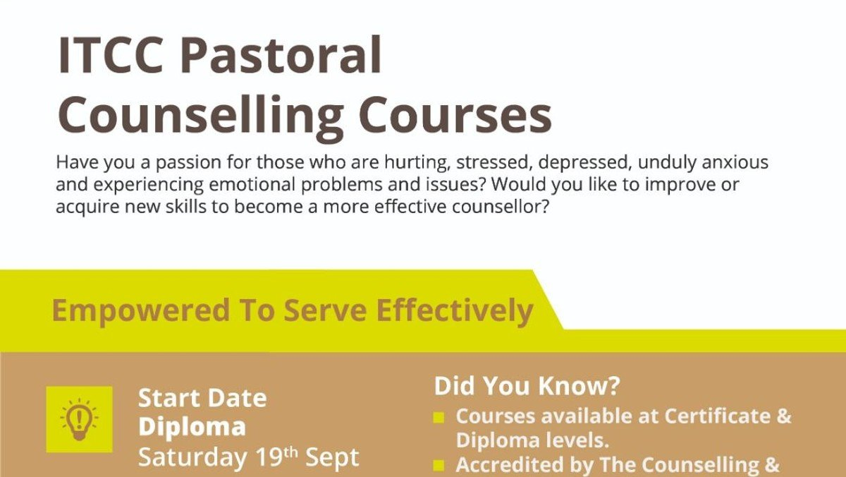 ITCC Pastoral Counselling Course (Diploma)