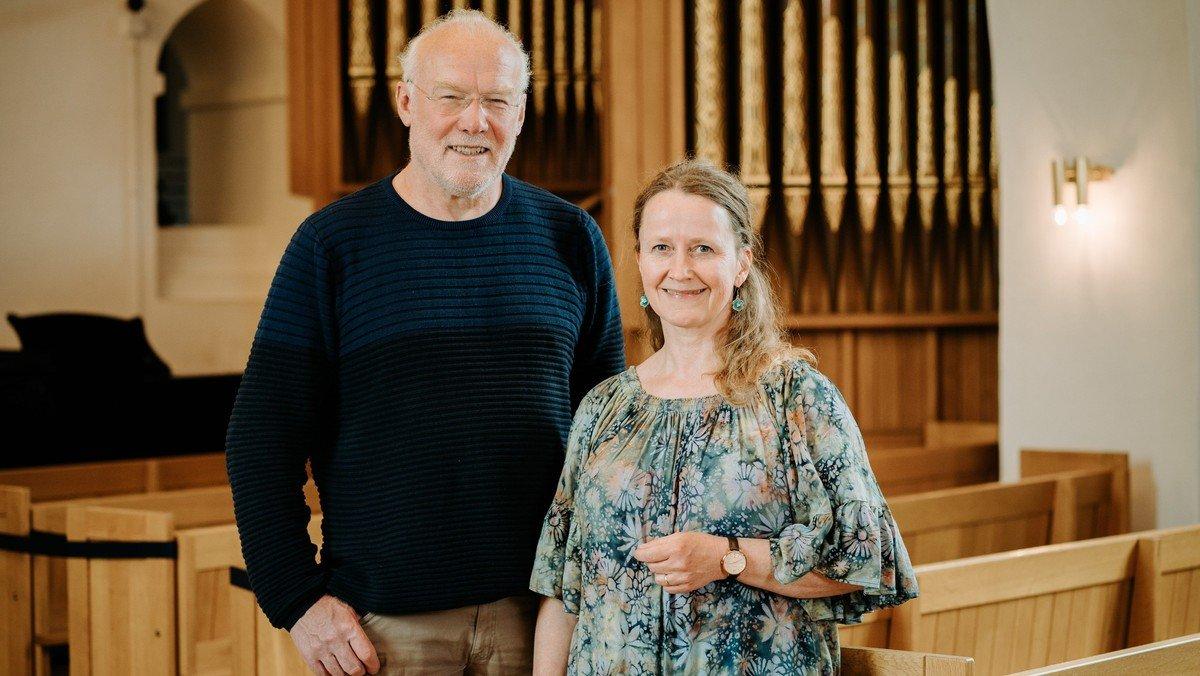 """Koncert i Vrensted Kirke - """"Himlen og jorden må feste"""" m/ Betty & Peter Arendt"""