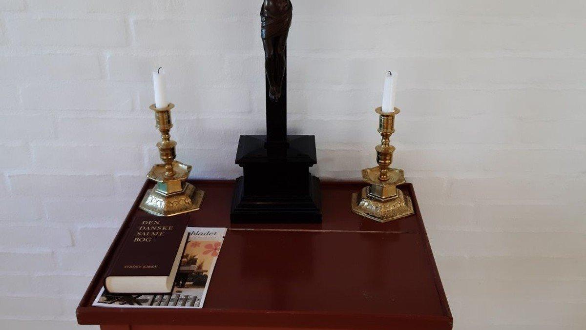 Gudstjeneste i Kirkeladen Strøby