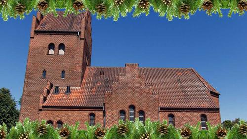 rørdal kirke med gran
