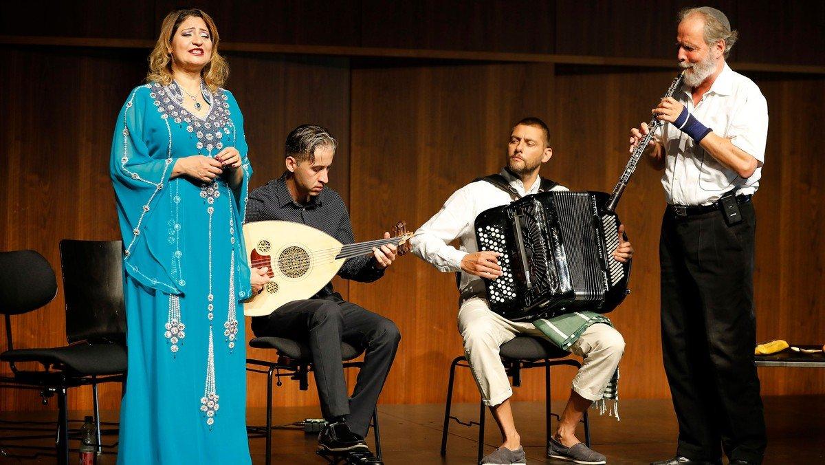 Koncert med The Middle East Peace Ensemble