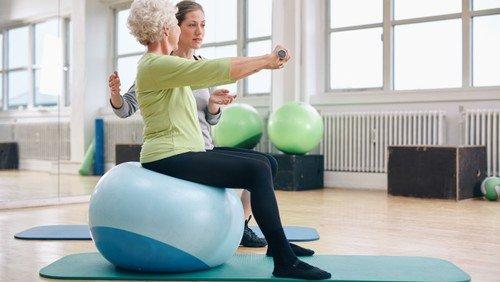 Sport-Fitness-Gymnastik