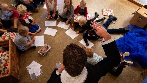 Gudstjeneste fjerde søndag i advent - med børnehjørnet