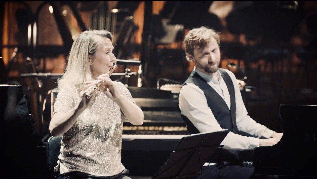 Koncert for fløjte og flygel - med Miilmann/Hyldig