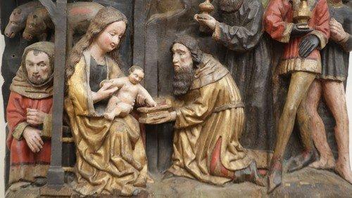Warum wir Weihnachten feiern – Bilder in der St. Marienkirche erzählen